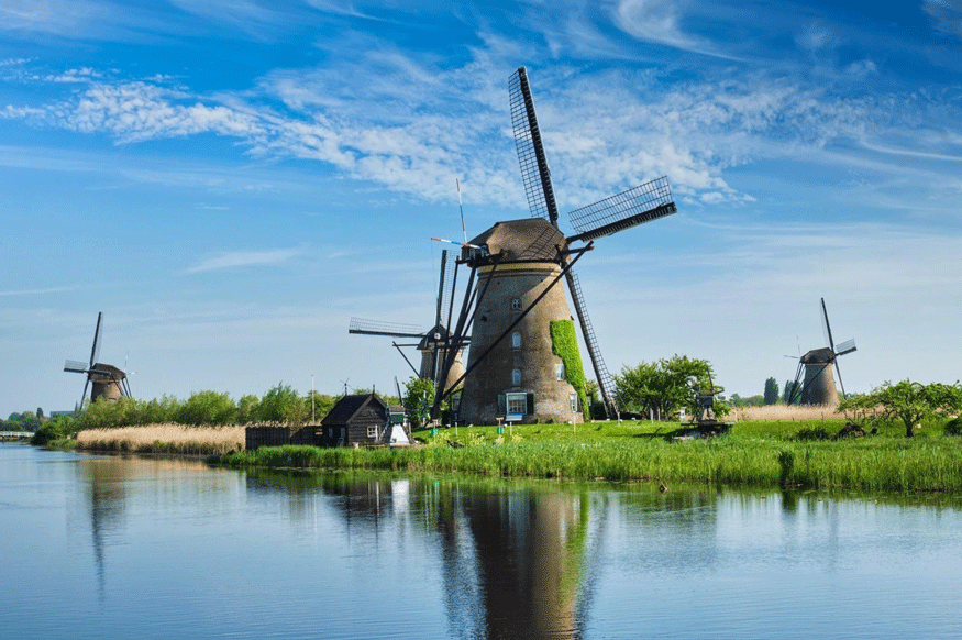Unesco Kinderdijk Windmills