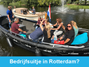 Bedrijfsuitje Rotterdam Rotterdamexperience guided tours incentives teambuilding