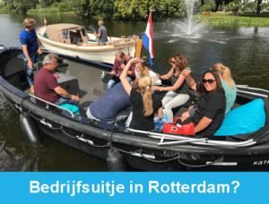 Bedrijfsuitje Rotterdam Rotterdamexperience guided tours incentives teambuilding
