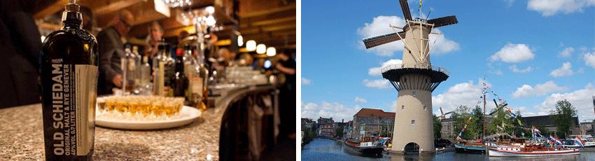 around Rotterdam Schiedam jenever gin Rotterdamexperience