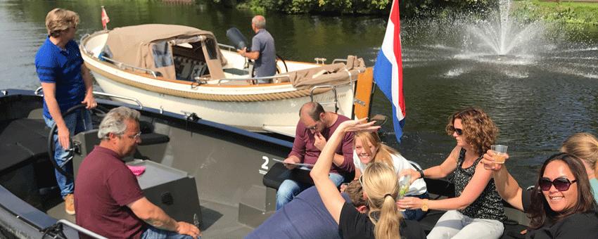 Rotterdamexperience sloep race Rotterdam Bergse Plas teambuilding incentive city trip